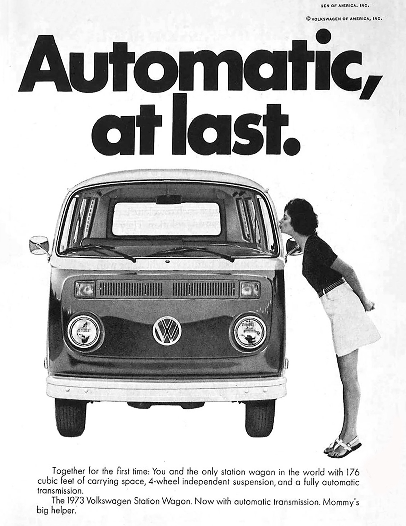 Volkswagen Bus Automatic, Automatic Transmission Ads
