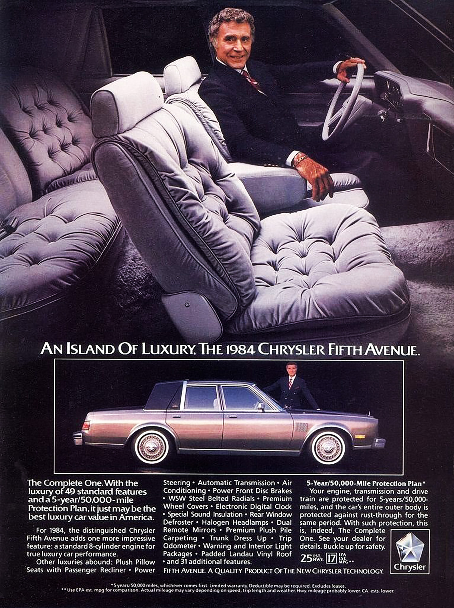 1984 Chrysler Fifth Avenue Ad