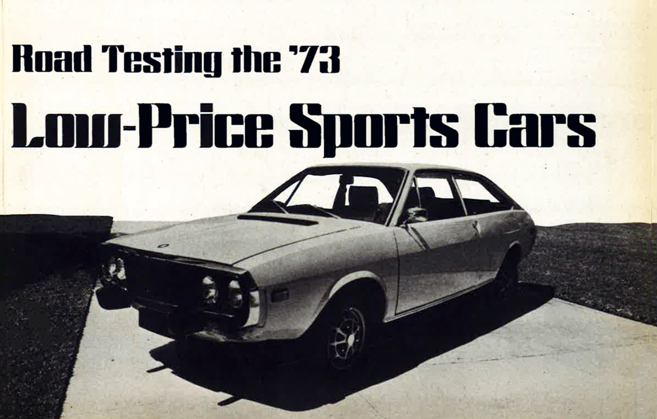 Sports Cars of 1973, The Budget Sports Cars of 1973