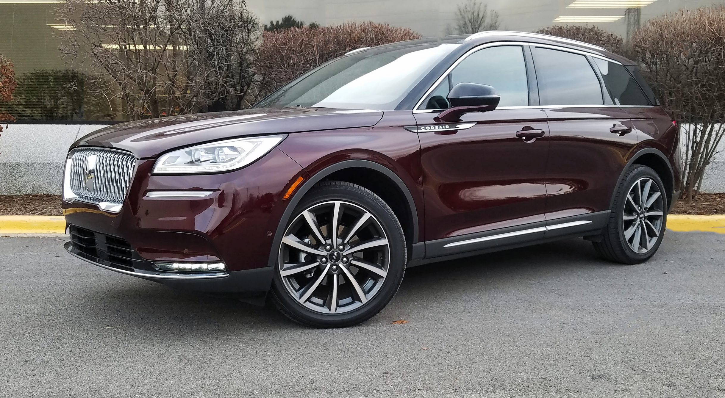 2020 Lincoln Corsair Reserve AWD, Burgandy Velvet