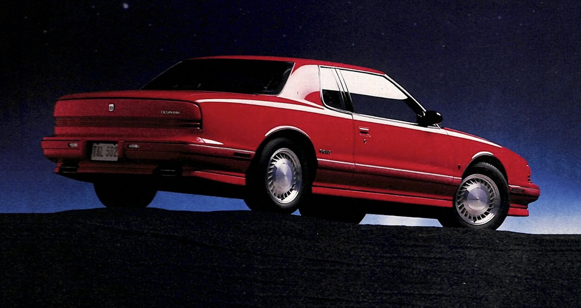 Classic Ads Featuring the Backs of Cars