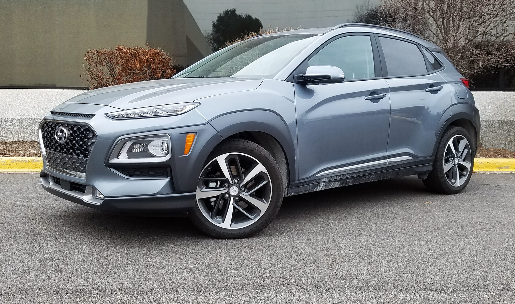 2020 Hyundai Kona Ultimate AWD in Sonic Silver