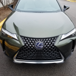 Lexus UX 250h Luxury in Nori Green Pearl