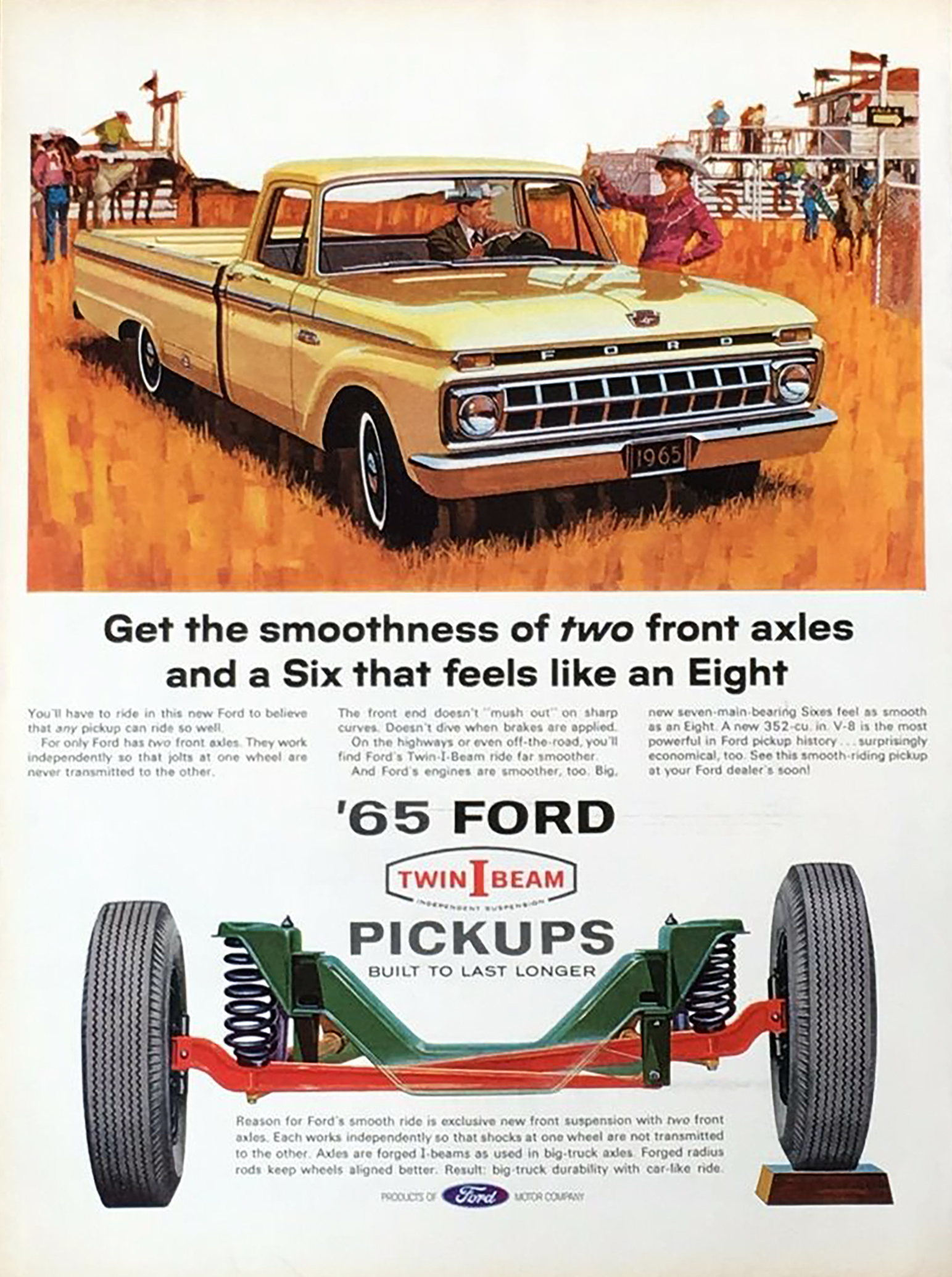 1965 Ford Pickup Cutaway, Twin I Beam