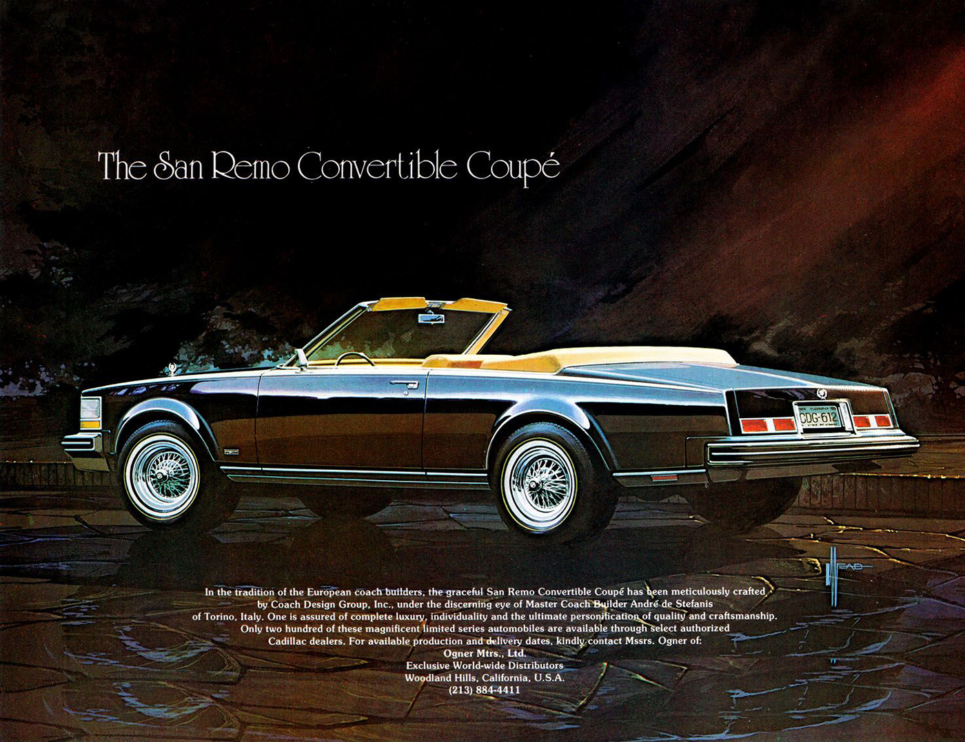 1977 Cadillac, San Remo, Convertible Conversion,