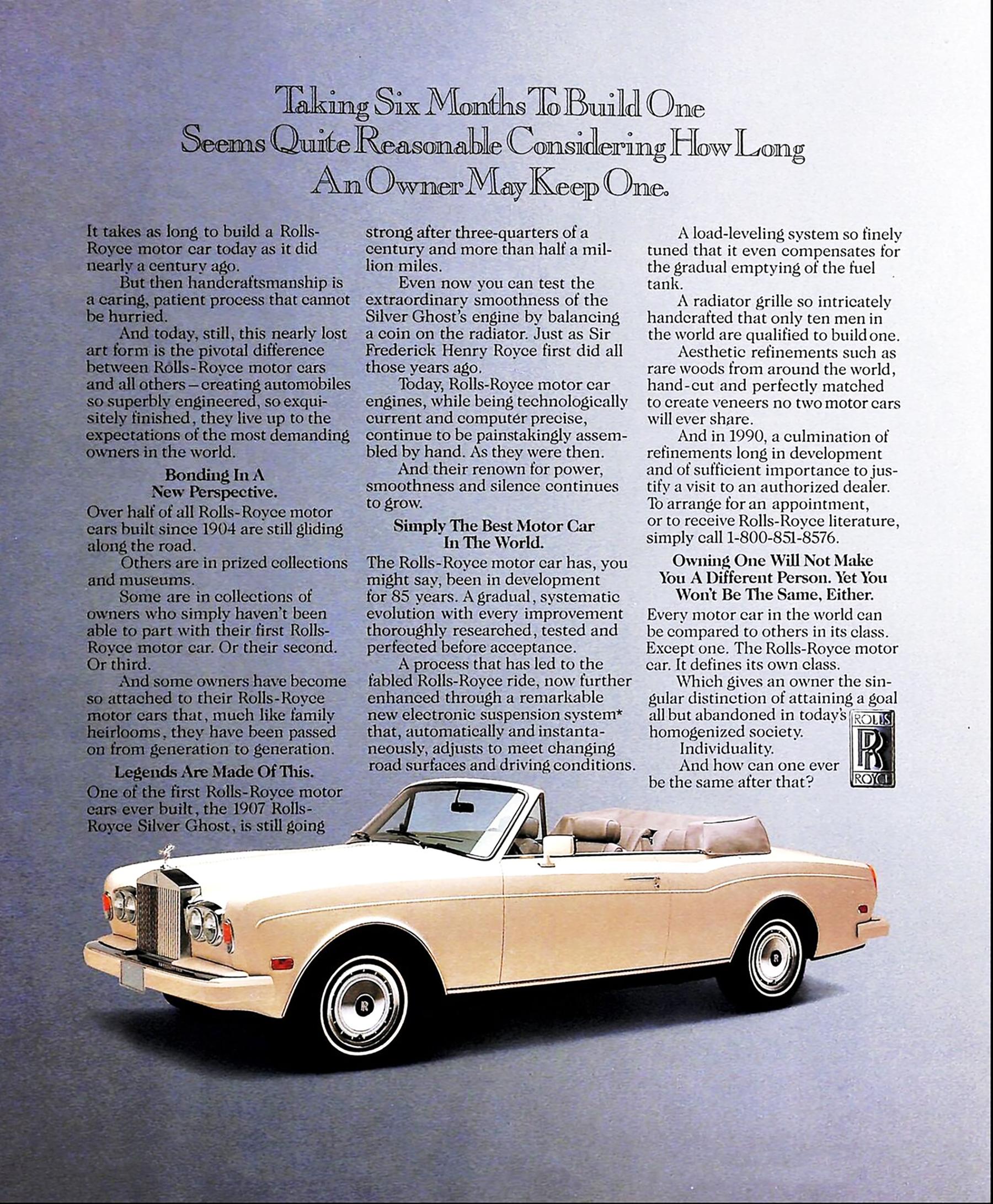 1990 Rolls-Royce