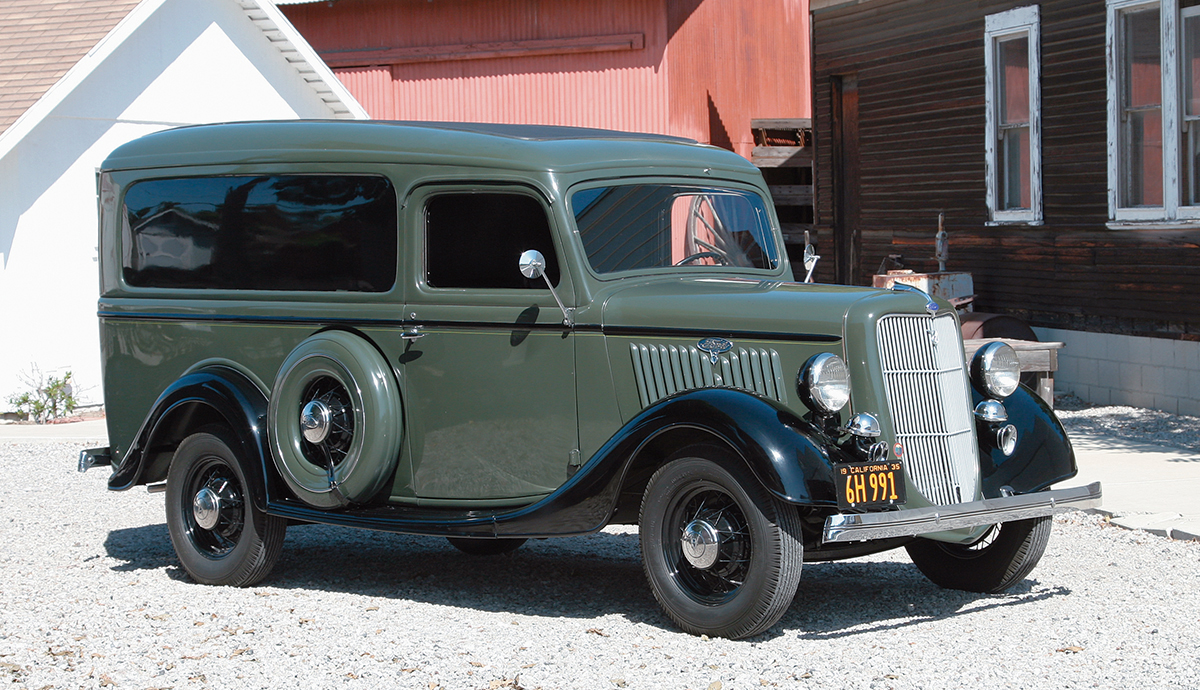 Photo Feature: 1935 Ford Model 50 DeLuxe Panel Truck