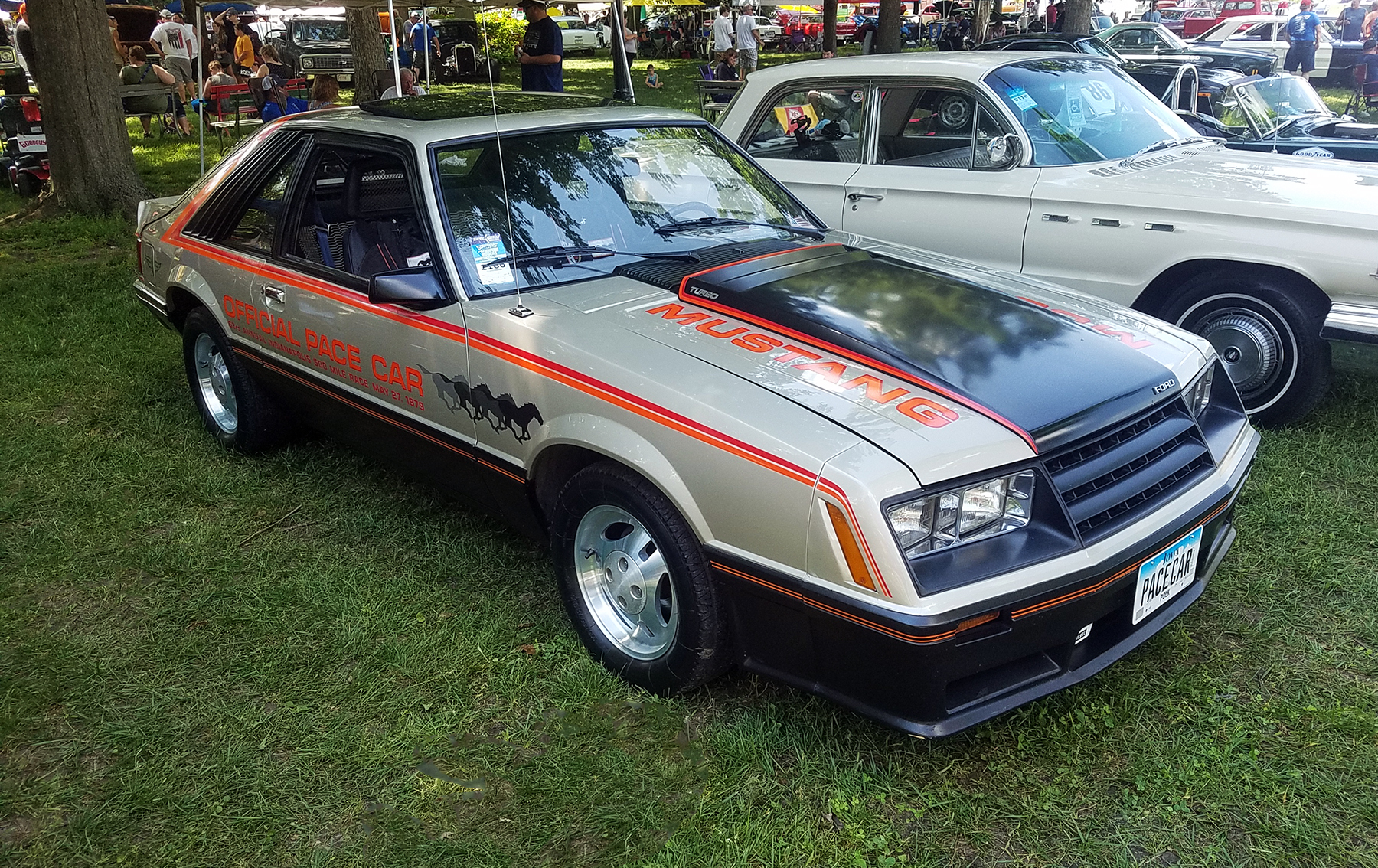 1979 Ford Mustang Indy Pace Car Replica