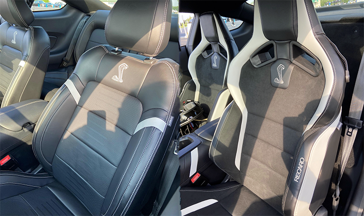 Shelby GT 500 Seats