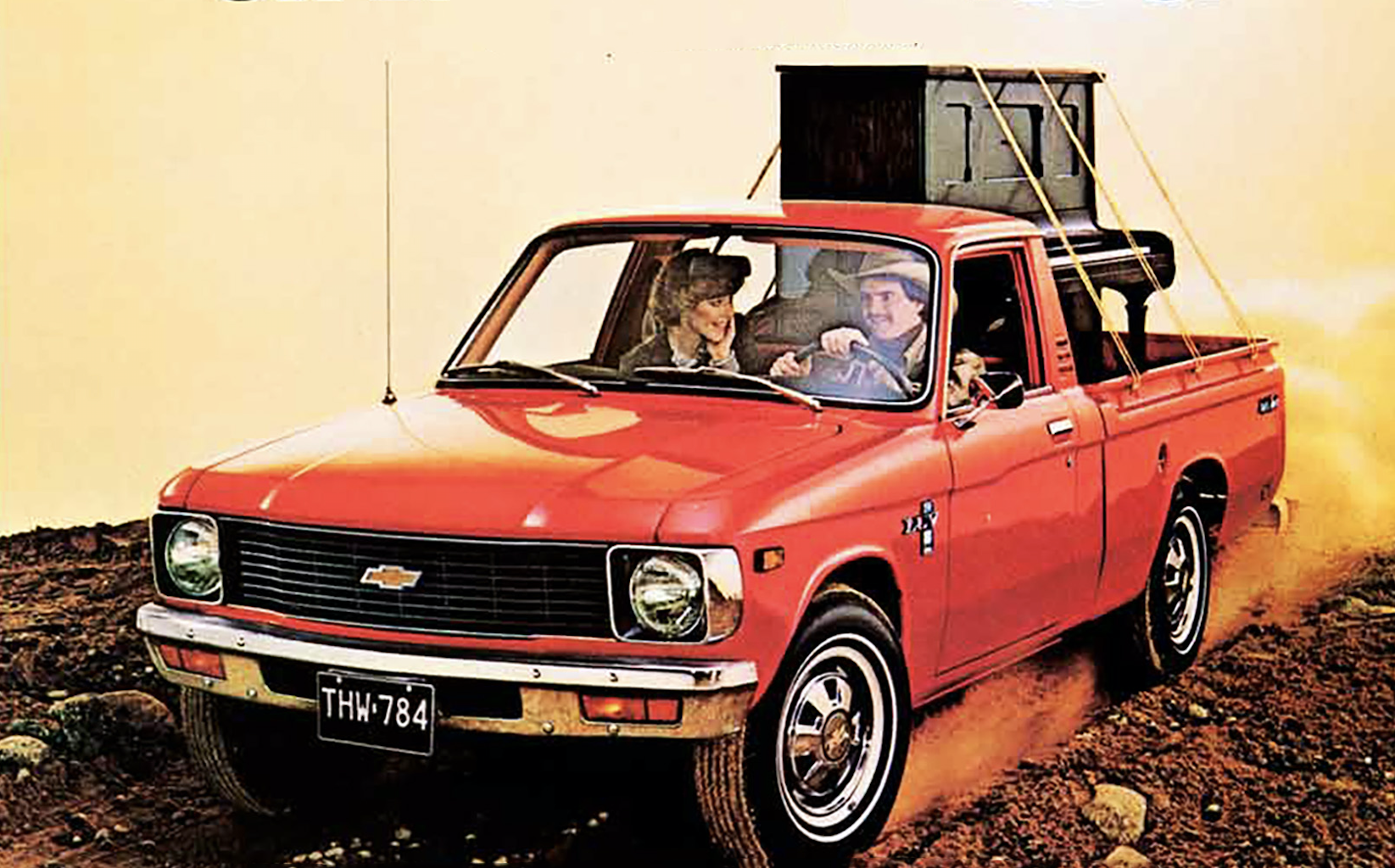 A Gallery of Small-Truck Ads