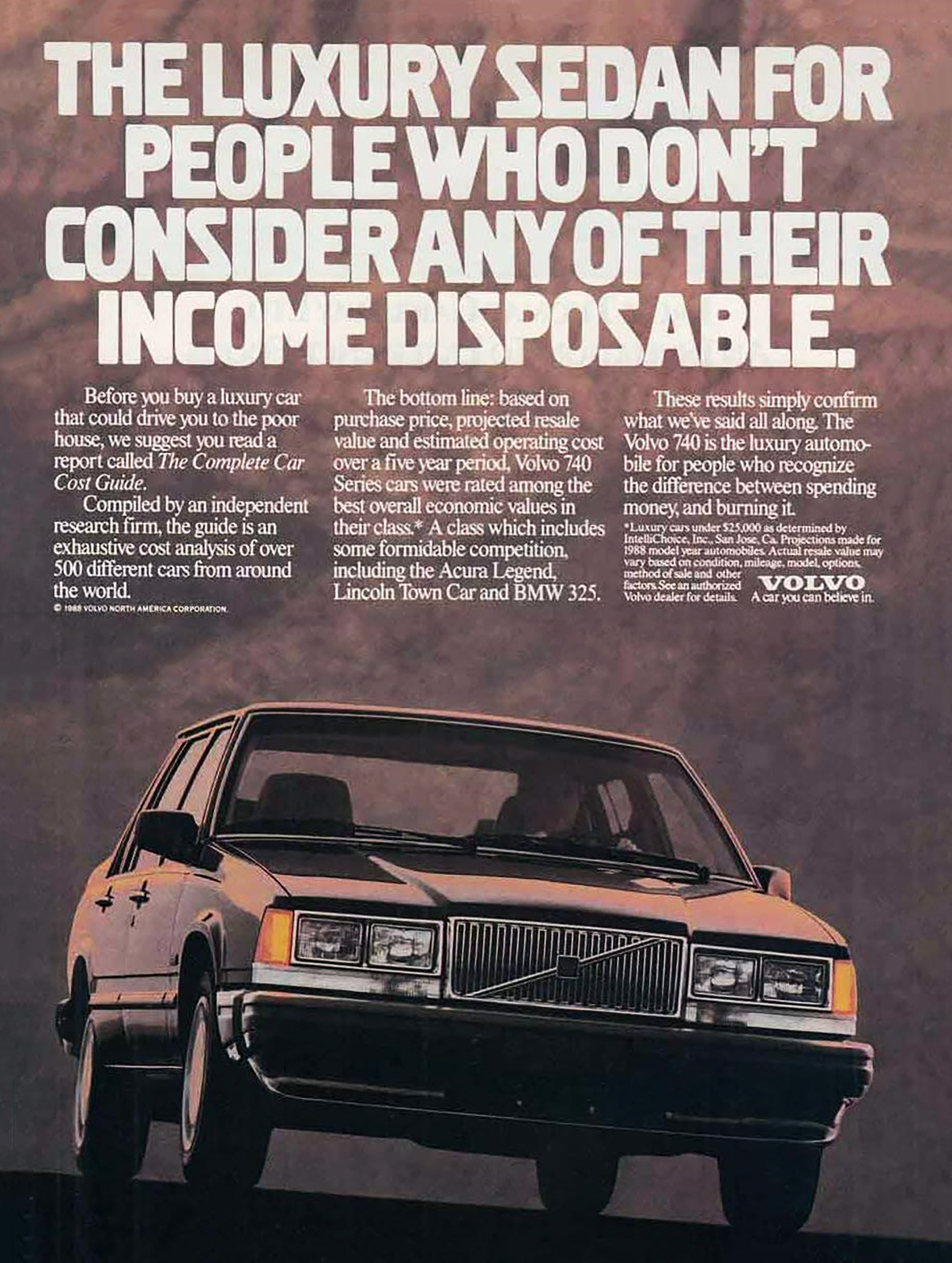 Four Door Madness A Gallery Of 1988 Sedan Ads The Daily