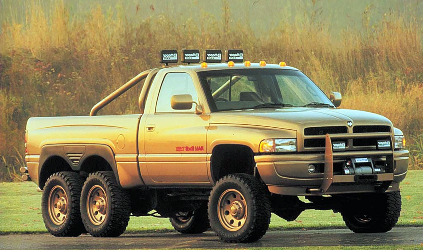 Forgotten Concept Dodge Ram T Rex 6x6 The Daily Drive Consumer Guide The Daily Drive Consumer Guide