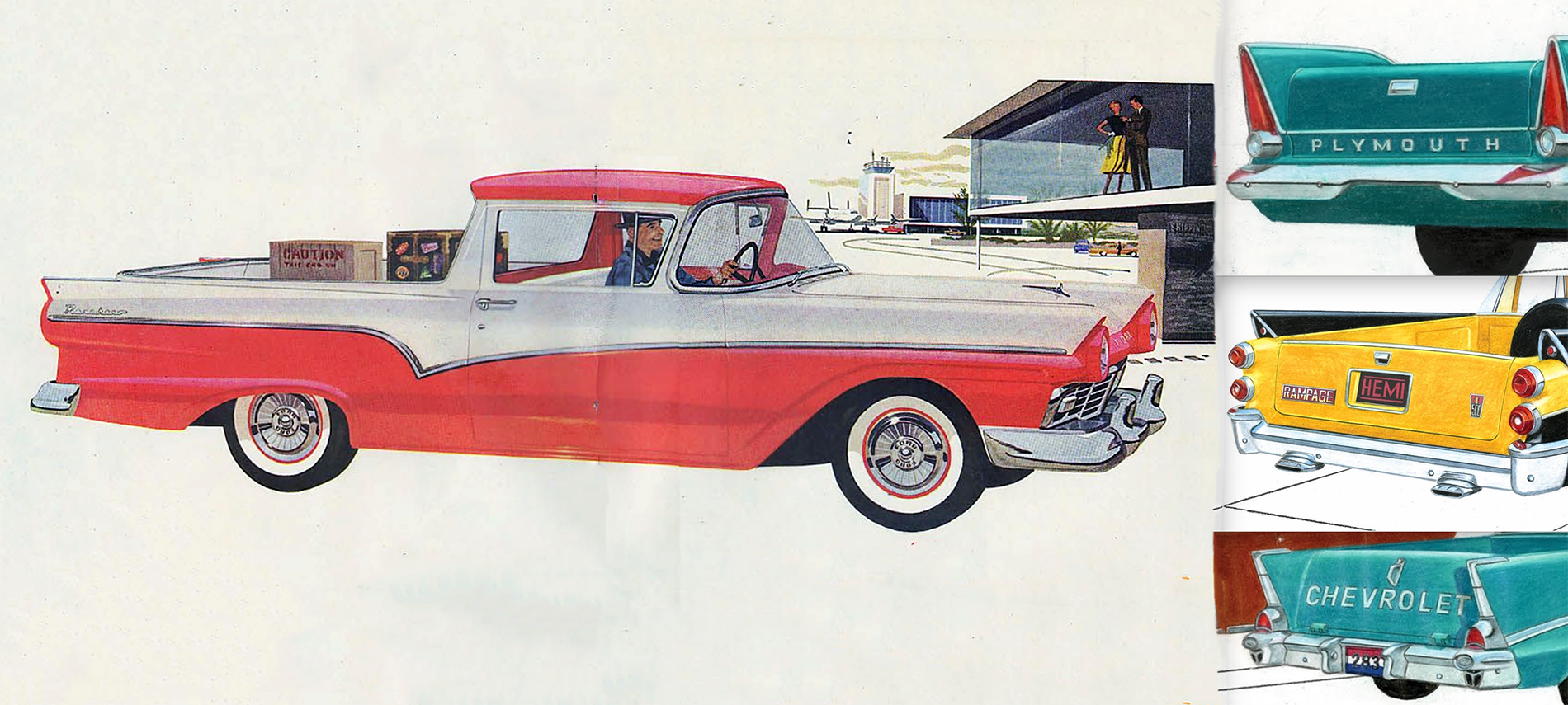 1957 Ford Ranchero Designs