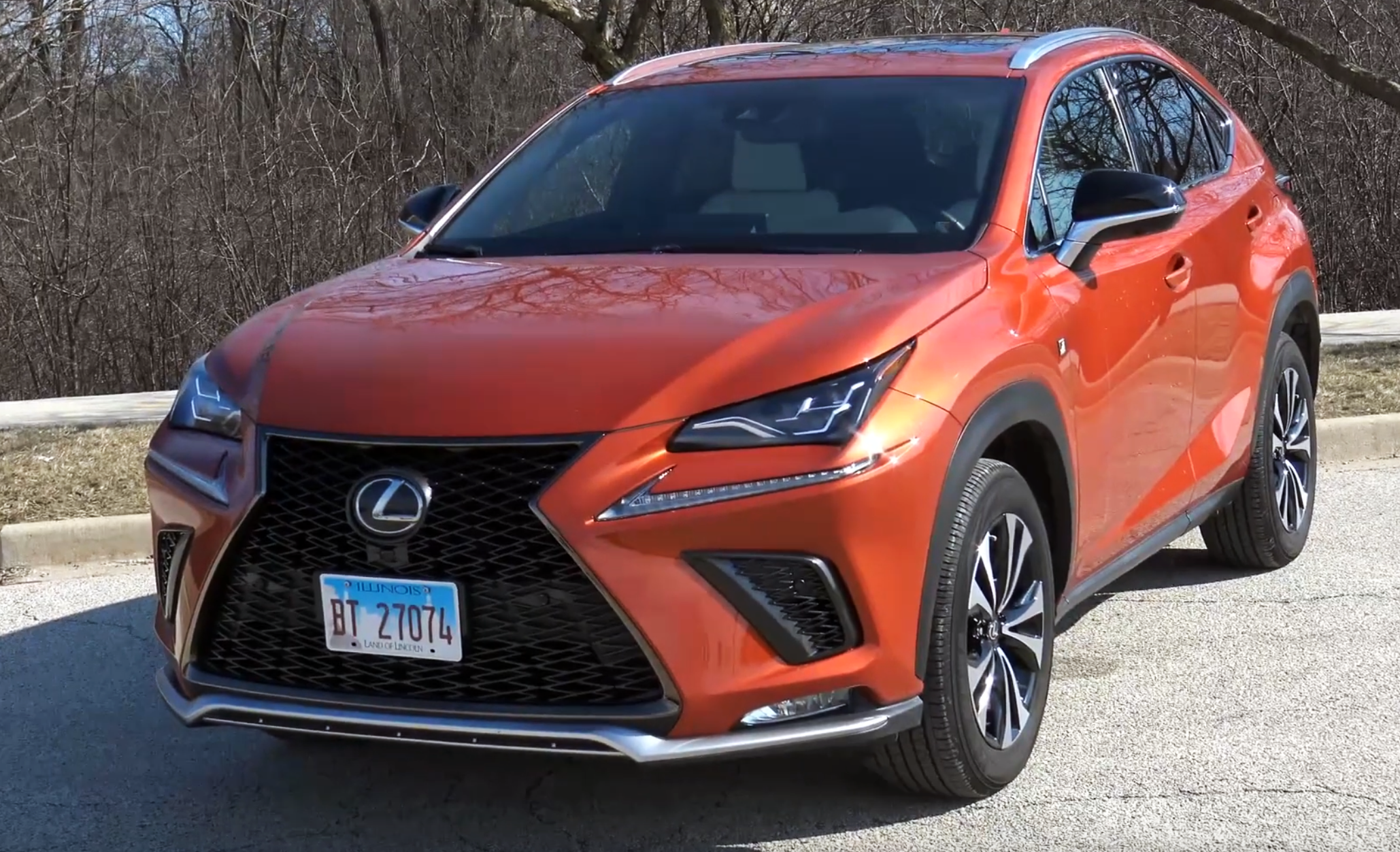 Steve and Johnnie Lexus NX Review
