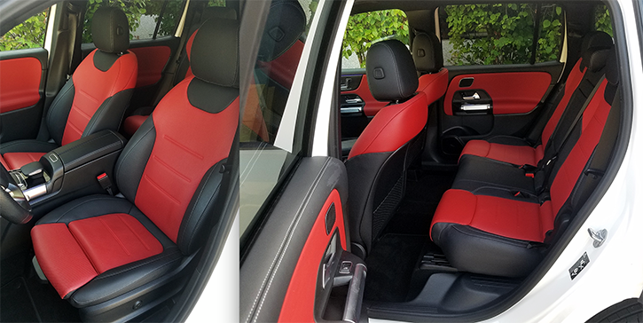 Test Drive: 2020 Mercedes-Benz GLB250, Black/Red Leather