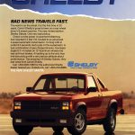 1989 Dodge Shelby Dakota Ad