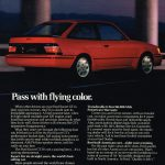 1989 Ford Escort GT Ad