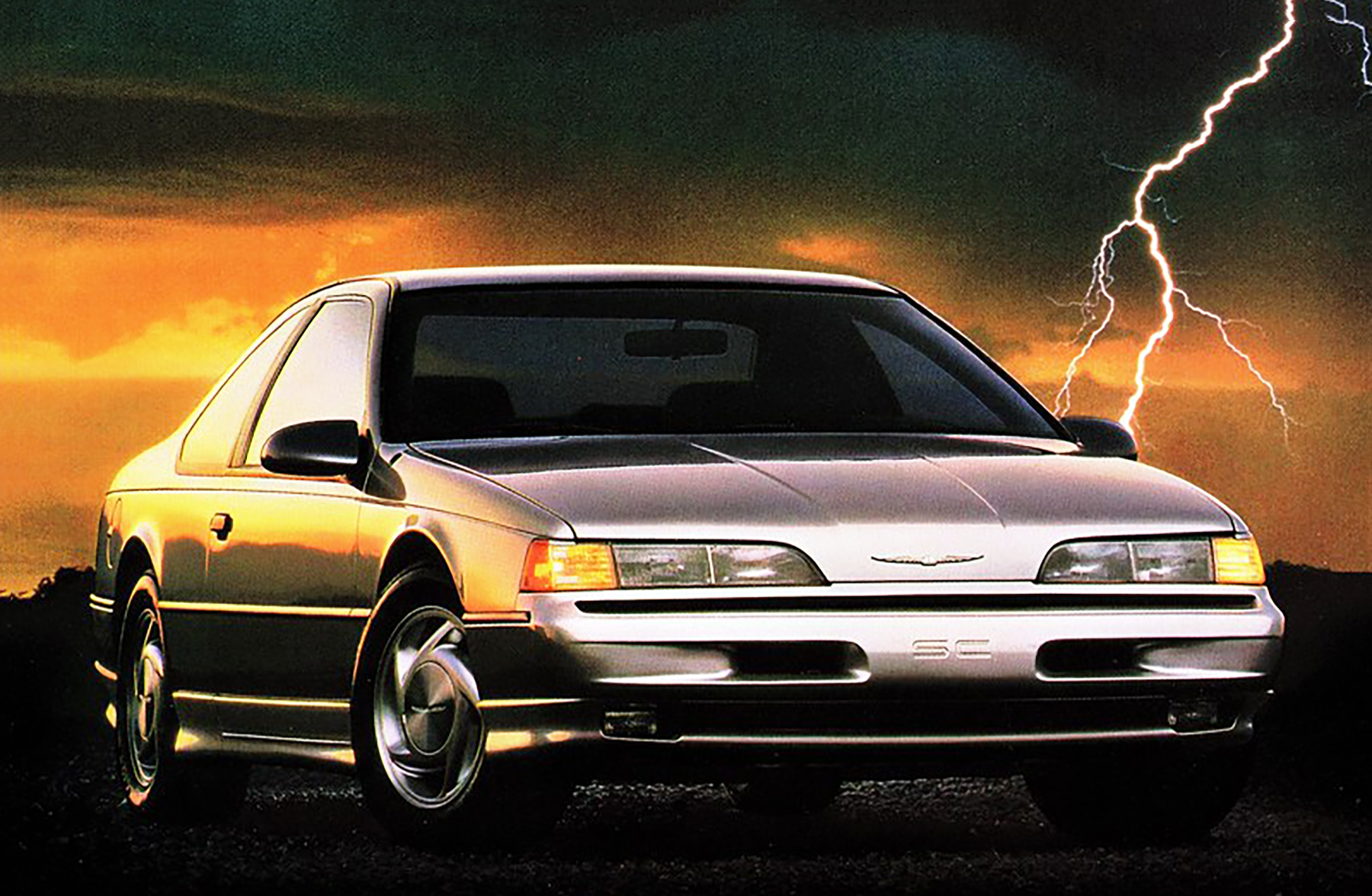 1989 Ford Thunderbird SC Ad, Sports Car Ads