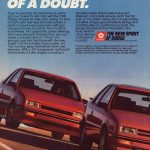 1989 Dodge Shadow Shelby CSX Ad