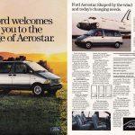 1986 Ford Aerostar Ad