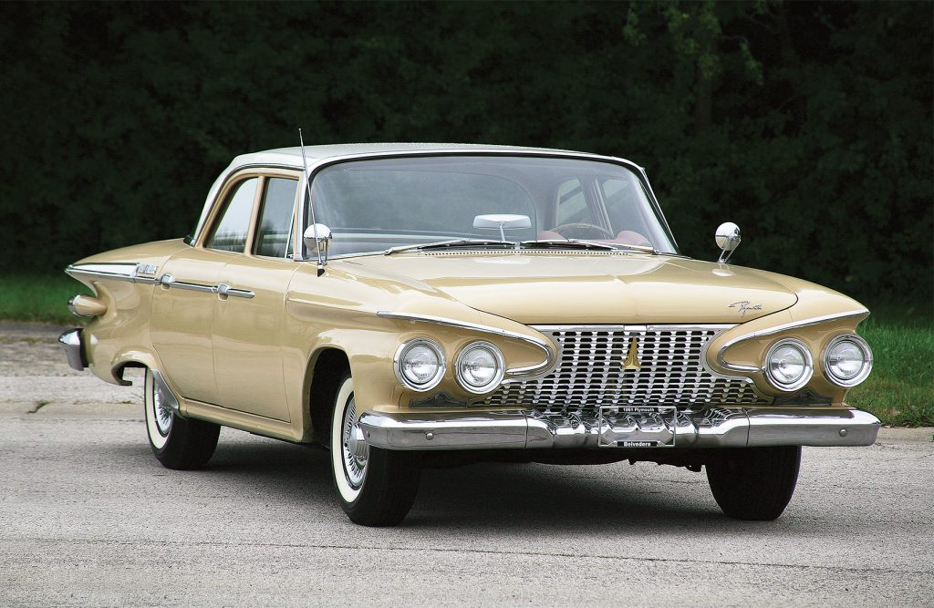 1961 Plymouth Belvedere Four-Door Sedan, Lexus Grille