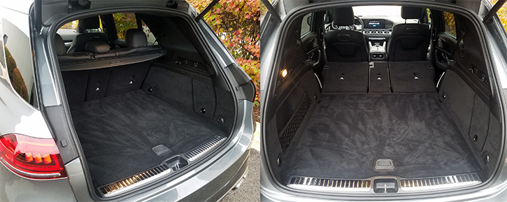 2021 GLE Cargo Space