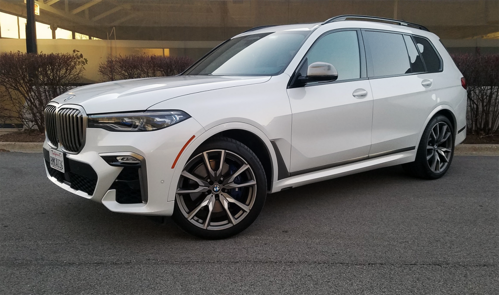 2020 BMW X7 M50i, Mineral White Metallic