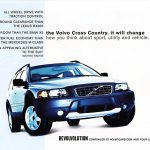 2002 Volvo Cross Country Ad