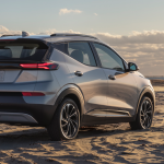 2022 Chevrolet Bolt EUV (left) and EV