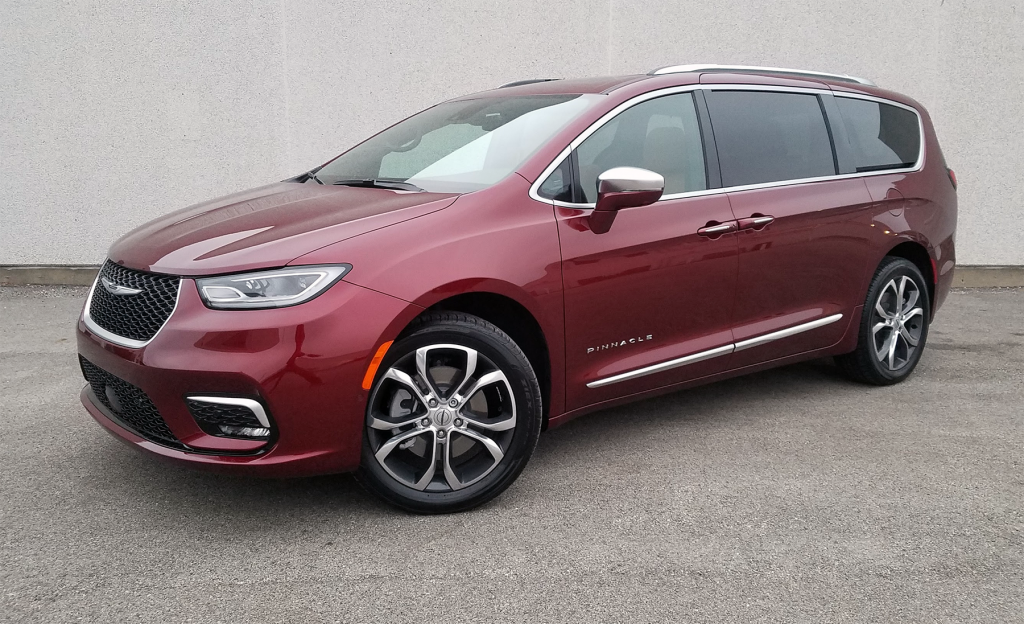 2021 Chrysler Pacifica Pinnacle, Velvet Red