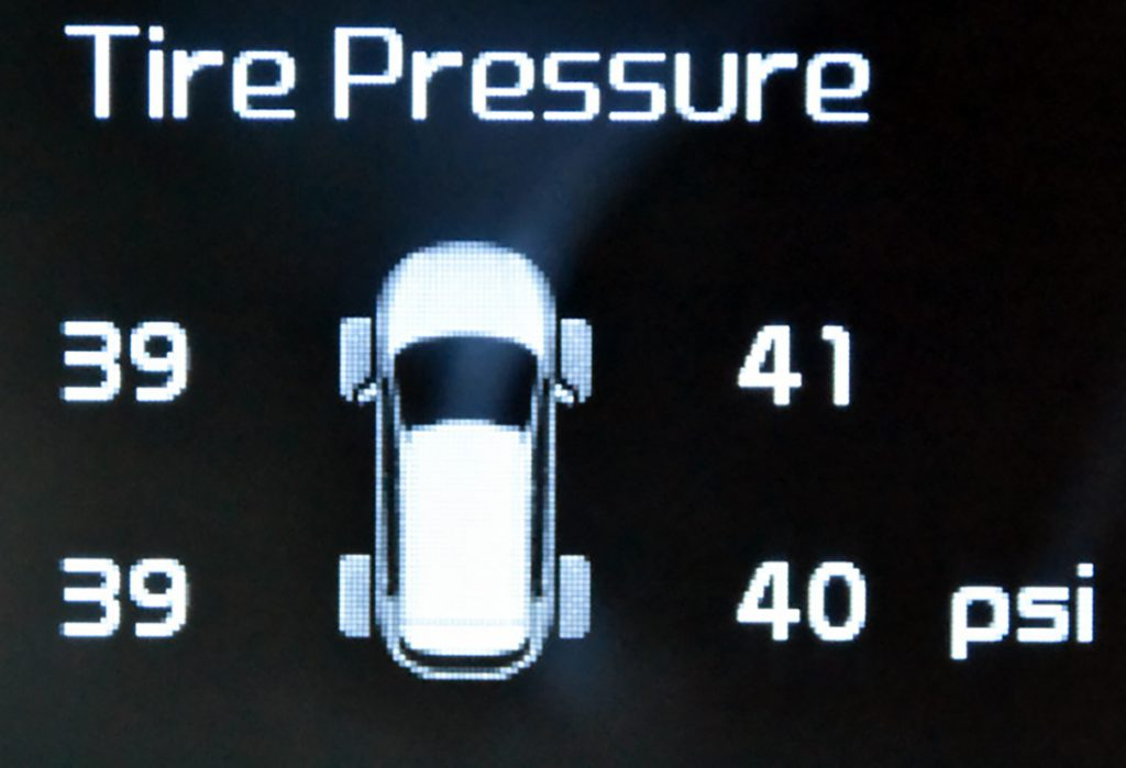 Why Your Tire Pressure Warning Light Is On