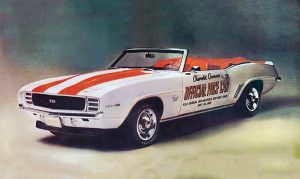 1969 Chevy Camaro SS/RS Indy pace Car