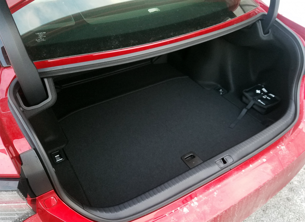 RC 350 Trunk