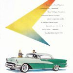 1955 Oldsmobile Ninety-Eight Holiday Coupé Ad
