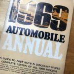 """Consumer Guide """"1969 Automobile Annual."""""""