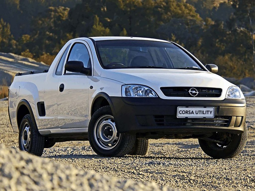 1997 Opel Corsa Utility (South Africa)