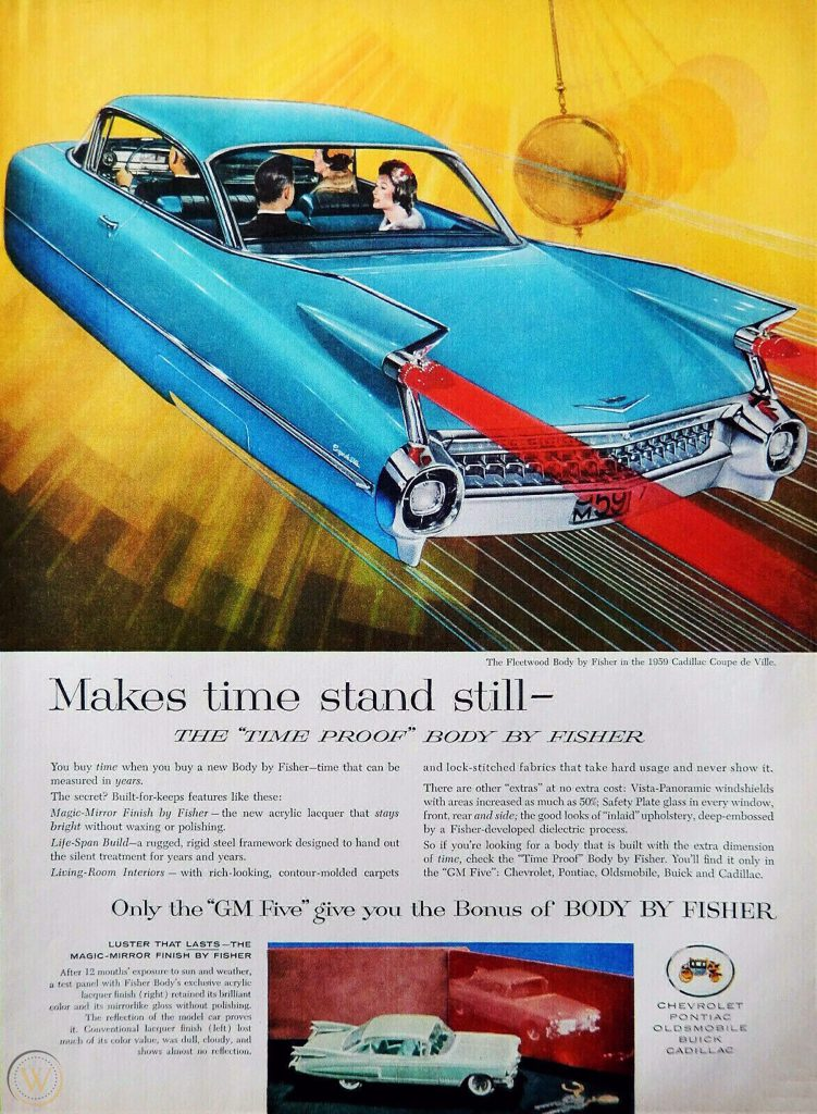 1959 Fisher Body Ad