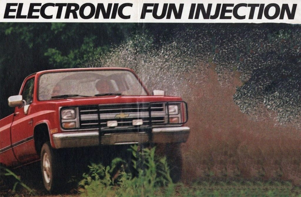 Chevy Fuel Injection, Cars Ads Featuring Fuel Injection