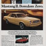 1976 Ford Mustang II Ad