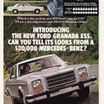 1978 Ford Granada Ad